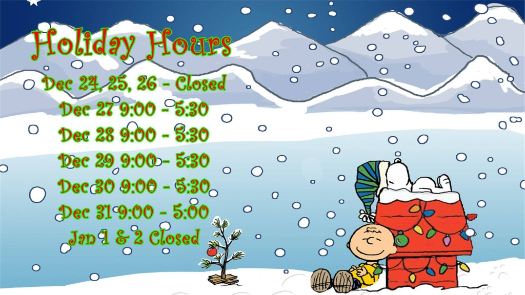 Tickle Trunk Holiday Hours