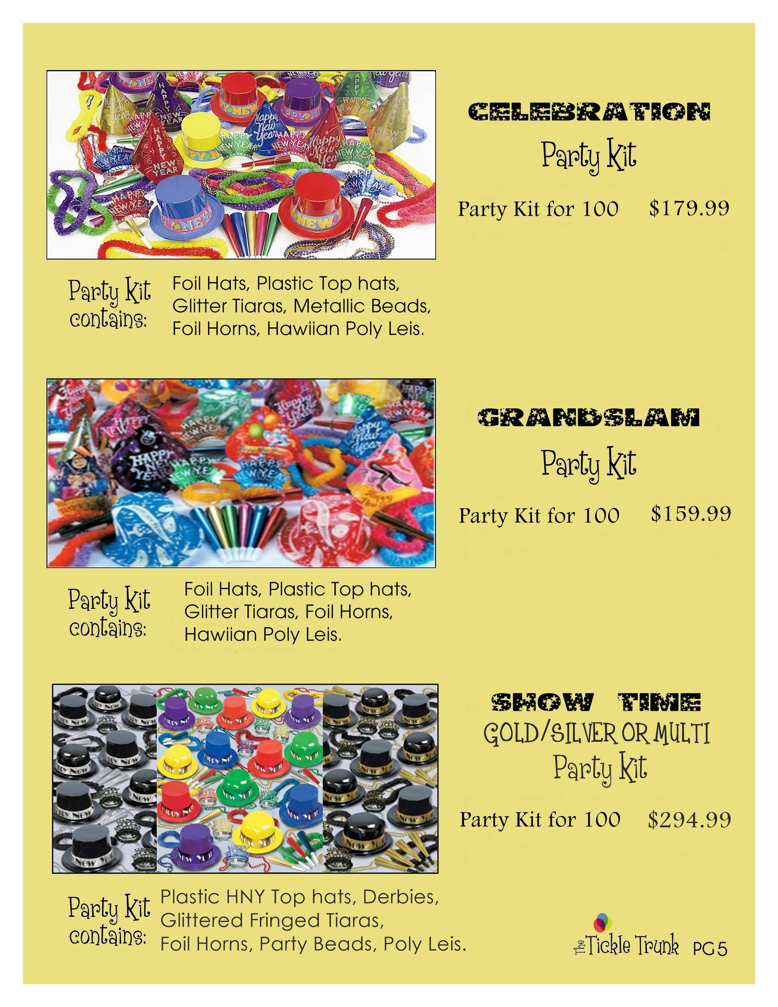 New Years Party Kits pg 5