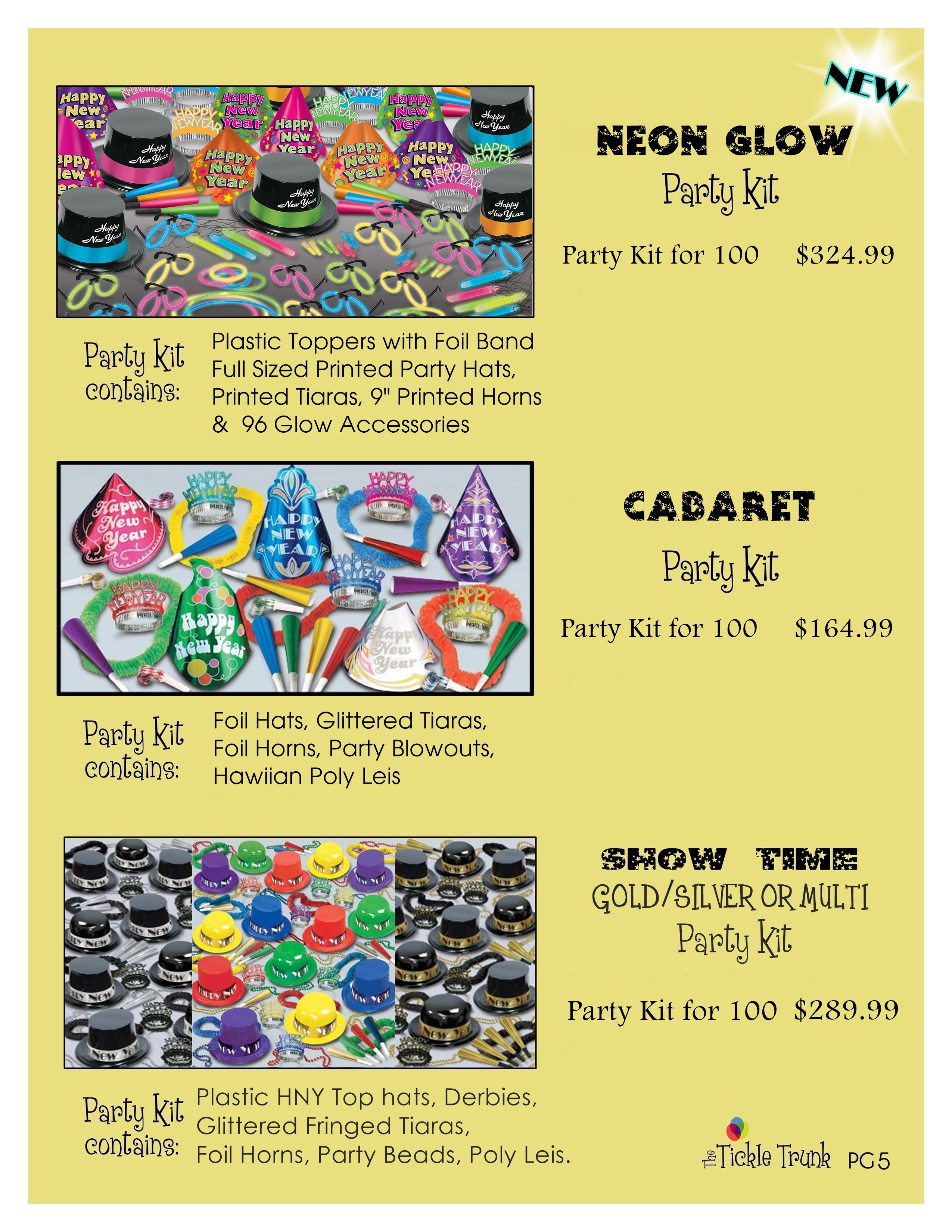 New Years Party Kits page 5