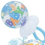 Baby Boy Pacifier balloon bubble Bouquet