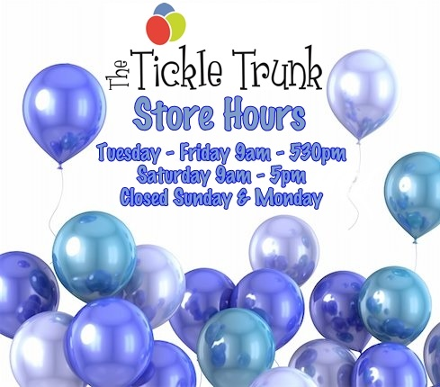 Tickle Trunk Store Hours