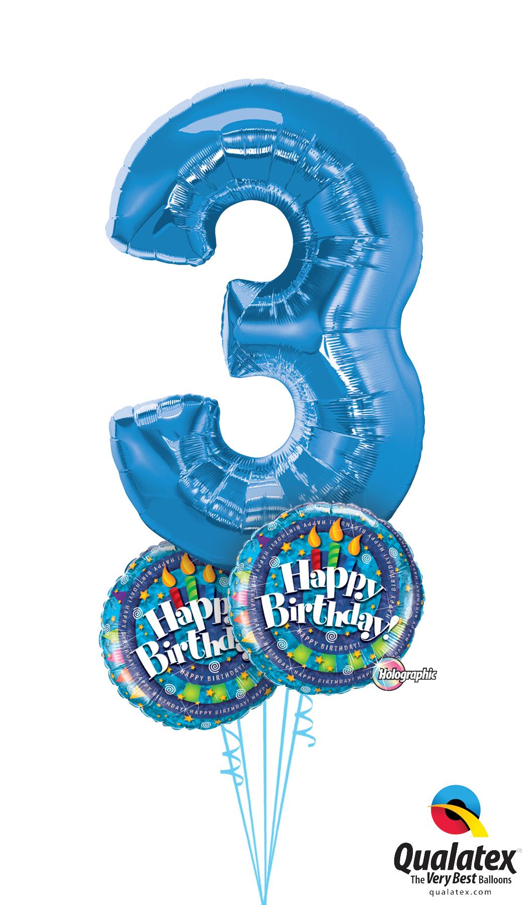 Jumbo Balloon Numbers