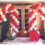 Balloon Candy Cane