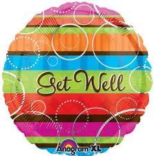 Get Well Mylar Balloon