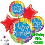 Birthday Blitz Balloon Bouquet