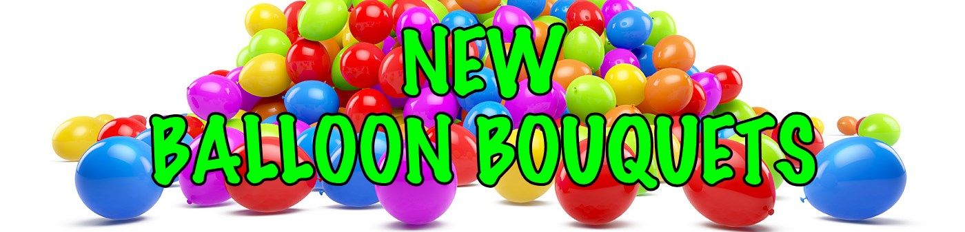 New Ballon Bouquets Banner