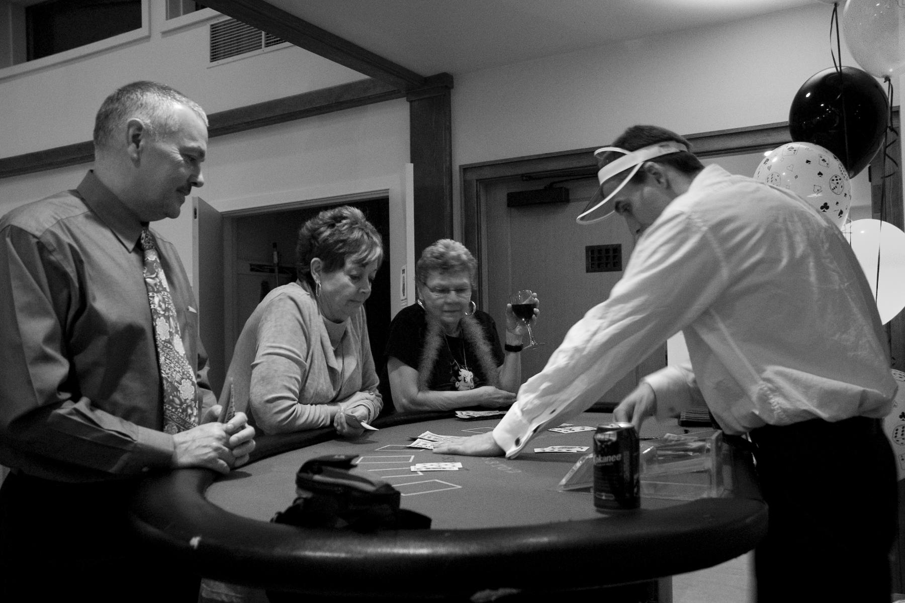 Black Jack Table Rental Kelowna