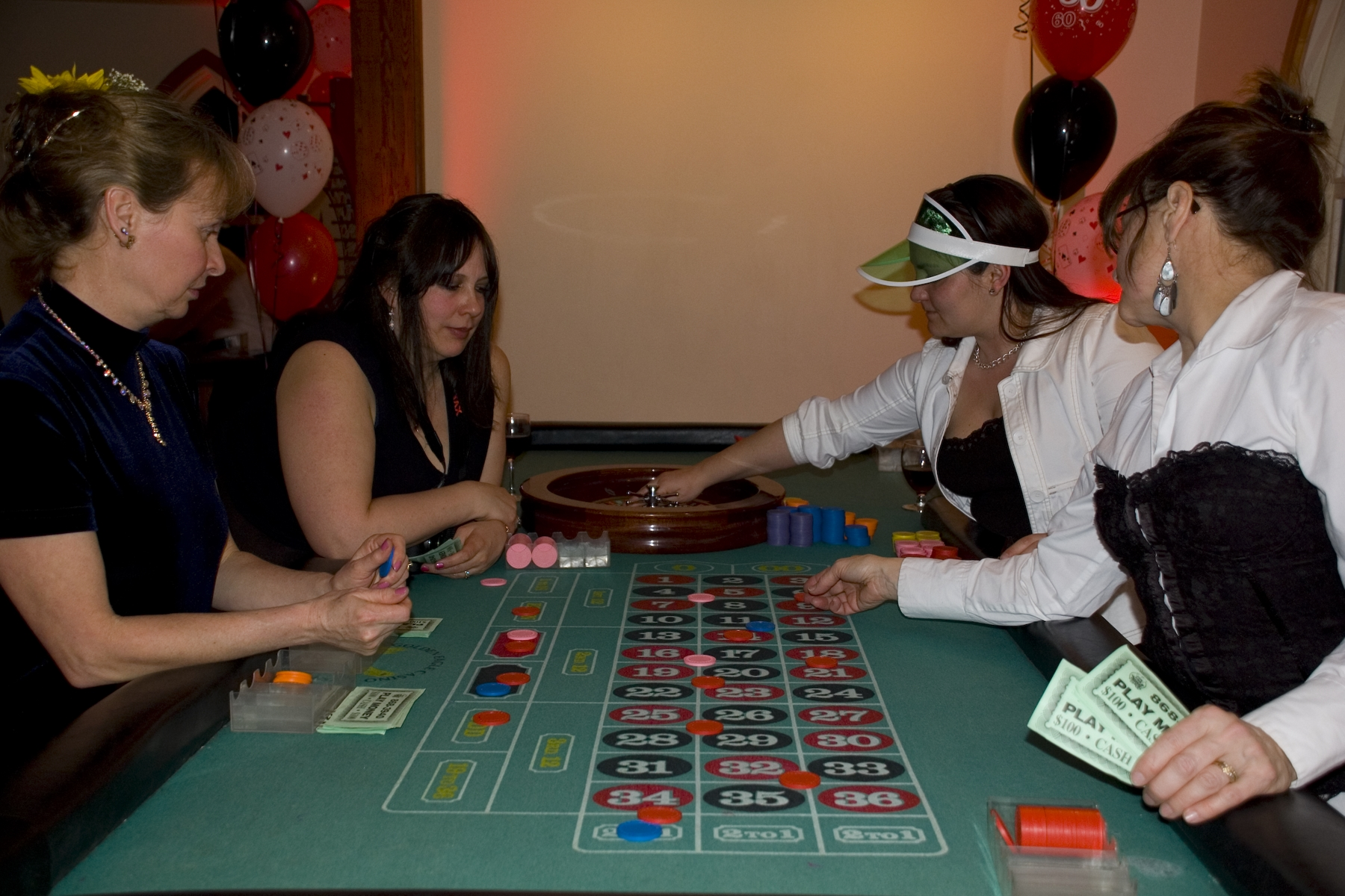 Roulette Table Rental Kelowna