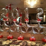 JUMBO BALLOON NUMBERS