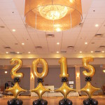 Jumbo Balloon Number Grad Decor