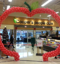 Balloon Apple Arch