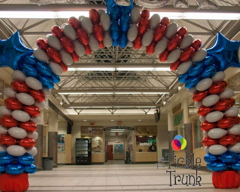 Mylar Balloon Arch