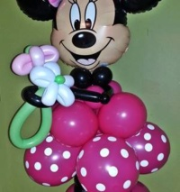 Minnie Mouse Balloon Stand-Up