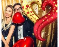 Love Heart Balloon Couple